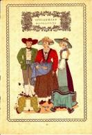 Trachten Der Alpenländer - MITTELSTEIER -Steiermark - Alter Original 10 -Farbendruck 1937 - Ohne Zuordnung