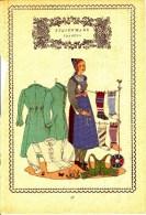 Trachten Der Alpenländer - TRAGÖSS -Steiermark - Alter Original 10 -Farbendruck 1937 - Ohne Zuordnung