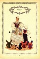 Trachten Der Alpenländer - GRIES -Tirol - Alter Original 10 -Farbendruck 1937 - Ohne Zuordnung