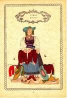 Trachten Der Alpenländer - MÖLTEN -Tirol - Alter Original 10 -Farbendruck 1937 - Ohne Zuordnung