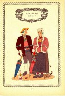 Trachten Der Alpenländer - PINZGAU  -Salzburg - Alter Original 10 -Farbendruck 1937 - Ohne Zuordnung