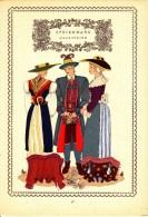Trachten Der Alpenländer - OBERSTEIER  - Steiermark - Alter Original 10 -Farbendruck 1937 - Andere Sammlungen