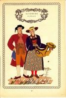 Trachten Der Alpenländer - PINZGAU - Salzburg - Alter Original 10 -Farbendruck 1937 - Ohne Zuordnung
