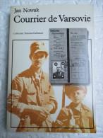 Courrier De Varsovie /  Jan Nowak  - Collection Témoins Gallimard - Histoire