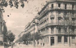 38 GRENOBLE L'AVENUE ALSACE LORRAINE CIRCULEE 1909 - Grenoble