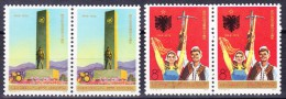 China 1974 Mi 1217-1218 ** In Paar - 1949 - ... People's Republic