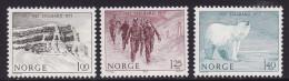 Norway #660-62 F-VF Mint NH ** Spitzbergen - Norway