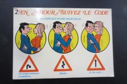 En Amour Suivez Le Code - Humour