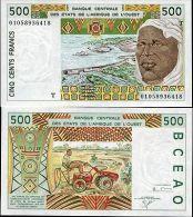 Togo - 500 Francs  Date: 2001 Catalog No.: 810Tl Grading: UNC - Togo
