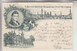 STENOGRAPHIE - XI. Bayerischer Gabelsberger Stenographentag 15.-18. Juli 1898 Augsburg - Autres