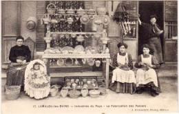 LAMALOU LES BAINS - Industries Du Pays - La Fabrication Des Paniers (69969) - Lamalou Les Bains