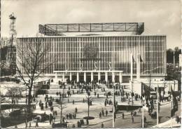 EXPOSITION UNIVERSELLE DE BRUXELLES 1958. Pavillon De L´U.R.S.S.  Façade Principale.....(voir Scan Verso) - Universal Exhibitions
