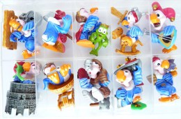 FIGURINES LES CHEVALIERS CONDORS SERIE KINDER COMPLETE - 2001