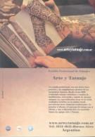 ARTE Y TATUAJE - ESTUDIO PROFESIONAL DE TATUAJES CARTE PUBLICITAIRE BUENOS AIRES ARGENTINA AÑO 2014 - Artisanat