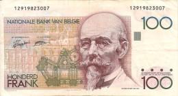 Billet De 100 Francs Belge - Nationale Bank Van Belgie - Frank Honderd - Belgium