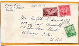 Cuba 1948 Cover Mailed To USA - Cuba