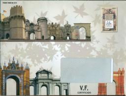 España - 2012 - Sobre Servicio Filatélico Correos - Primer Trimestre 2012 - Imprimido Sello ED 4708 - 1931-Today: 2nd Rep - ... Juan Carlos I