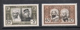 ALGERIE N°284 ET 285 N** - Algérie (1924-1962)