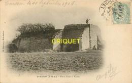 Cpa 77 Tousson, Vieux Fours à Chaux, Carte Pas Courante Affranchie 1906 Et Cachet Lettre - Autres Communes