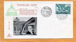 Vatican 1961 FDC - FDC