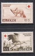 ALGERIE N°343 ET 344 N** - Algérie (1924-1962)