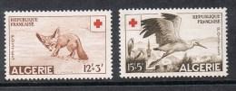 ALGERIE N°343 ET 344 N** - Algerien (1924-1962)