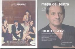 MAPA DEL TEATRO 5 AÑOS - AÑO 2014 128 PAGINAS JULIO CHAVEZ VIRGINIA INNOCENTI OSMAR NUÑEZ TENNESSE WILLIAMS ANNA MAGNANI - Théâtre