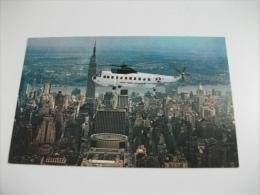 Elicottero In Volo New York On New York Airways - Elicotteri