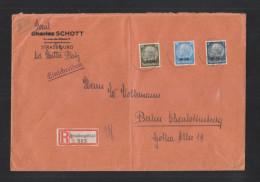 Dt. Reich R-Brief 1940 Strassburg Nach Berlin - Occupazione 1938 – 45