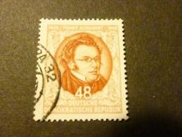 DDR 1953 Mi Nr 404 Used Schubert - Musique
