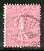 N°202a Oblitéré (type 2)     - Cote 155€ -