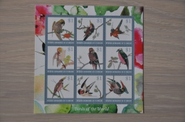 M1 100 ++ GRENADINES OF ST.VINCENT 2014 BIRDS OISEAUX VOGELS MNH ** - St.-Vincent En De Grenadines