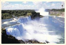 NIAGARA FALLS NEW YORK PROSPECT POINT THE HORSESHOE FALLS FROM THE GORGE OBSERVATION TOWER - Autres