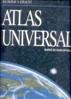 ATLAS UNIVERSAL READER'S DIGEST AÑO 1995 MAPAS DE RAND MCNALLY MAPS CARTS MAPS CARTOGRAFIA TBE - Encyclopedieën