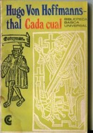 """CADA CUAL"" DE HUGO VON HOFFMANNSTHAL- EDIT. C. E. A. L- AÑO 1970- PAG.95- GECKO. - Theatre"