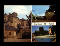 12 - RECOULES-PREVINQUIERES - Château De Varès - Colonie De Vacances SNCF - Autres Communes