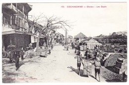 Cochonchine - Cholon - Les Quais - - Viêt-Nam