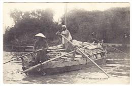 Cochonchine - Transport Du Mais - - Viêt-Nam