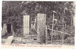 Cochonchine - Cap St Jacques - Scieurs De Long Dans La Forêt - Métier - Viêt-Nam