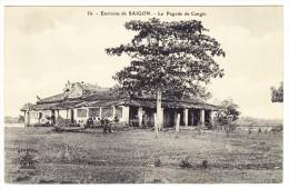 Cochonchine - Environs De Saigon - Pagode De Cangio - - Viêt-Nam