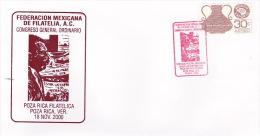 Mexico 2000 Philatelic Congress Souvenir Cover - Mexico