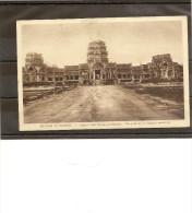 Cambodge - Ruines D´Angkor - Angkor-Vath - Entrées Occidentales - Vue Prise De La Chausée Exterieure - Nadal N° 6 - - Cambodge