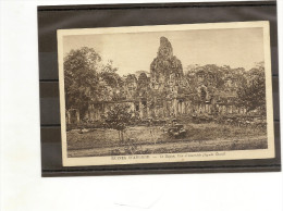 Cambodge - Ruines D´Angkor - Le Bayon Vue D'ensemble (facade Ouest) .NADAL N° 98 -- - Cambodge