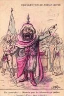 Illustrateur Chagny-proclamation De Moulai Hafid - Chagny