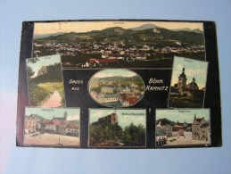 == Böhmisch Kamnitz ,  Ceska Kamenicee  , Schöne Karte Kl.Mängel 1918 - República Checa
