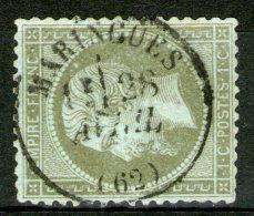 Puy De Dôme: N°19 Oblitéré CàD MARINGUES(62)   - Cote 45€ -