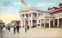 "The ""Pike"" And Bath House - Long Beach, California - Long Beach"