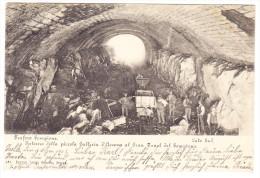 I - Interno Della Piccola Galleria D'accesso Al Gran Tunel Del Sempione - Tunnelbau - Italien