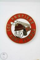 Les Pompiers Sont Sympas - Fireman/ Firefighter - Pin Badge #PLS - Bomberos