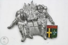 Sapeurs Pompiers - Phalsburg - Fireman/ Firefightor - Pin Badge #PLS - Pin